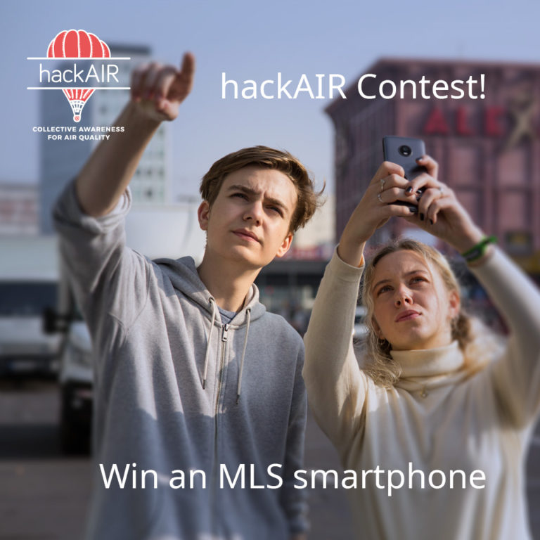 Join the hackAIR Contest